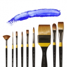 Laurence Mathews System 3 Acrylic Brushes