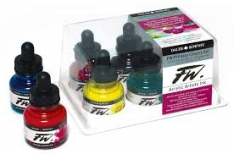 Laurence Mathews Daler F.W. Acrylic Ink Sets