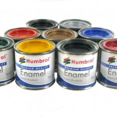 Laurence Mathews Humbrol Enamel Paints 14ml tinlets