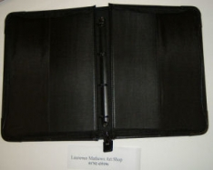Laurence Mathews A4 Professional Executive Ringbinder Portfolio