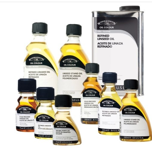 Laurence Mathews Winsor Newton Oil Mediums Thinners Varnishes and more